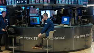 Dow Faces Its Worst Drop in Two Years