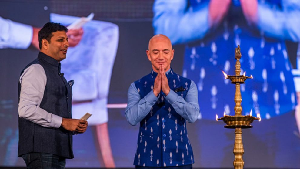 Amazon drives into training with new foundation in India